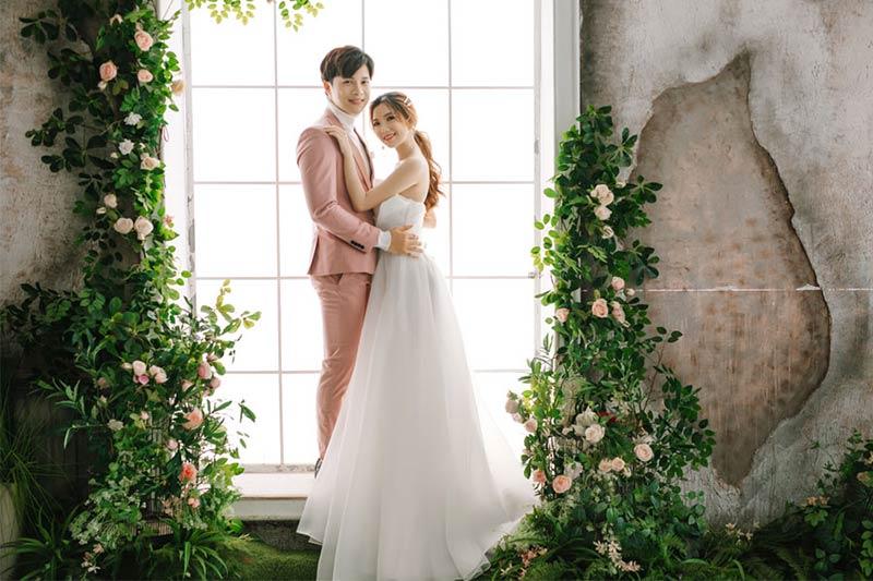 Ảnh cưới phim trường Alibaba