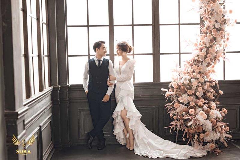 Hình cưới phim trường Lamour