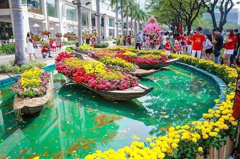 Các chợ hoa Tết Sài Gòn