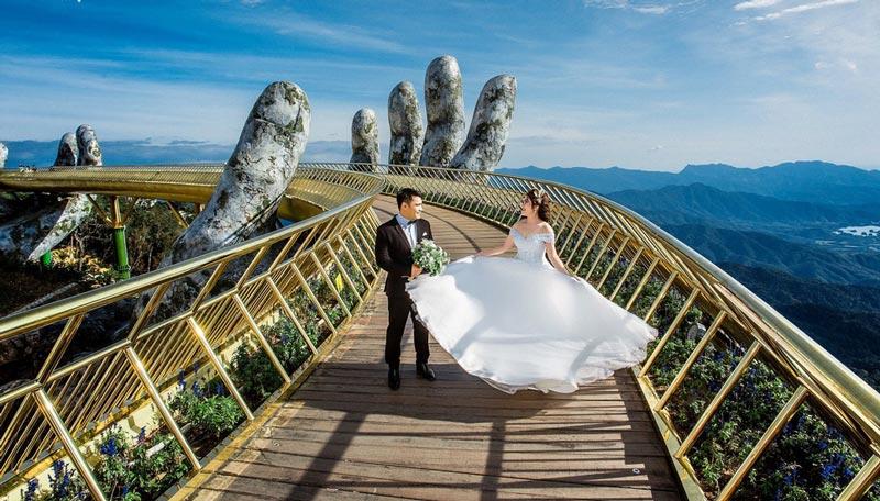 Chụp ảnh cưới ngoại cảnh Đà Nẵng