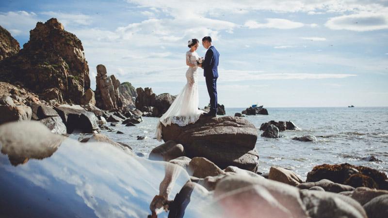 Chụp ảnh cưới ngoại cảnh Hồ Cốc – Vũng Tàu
