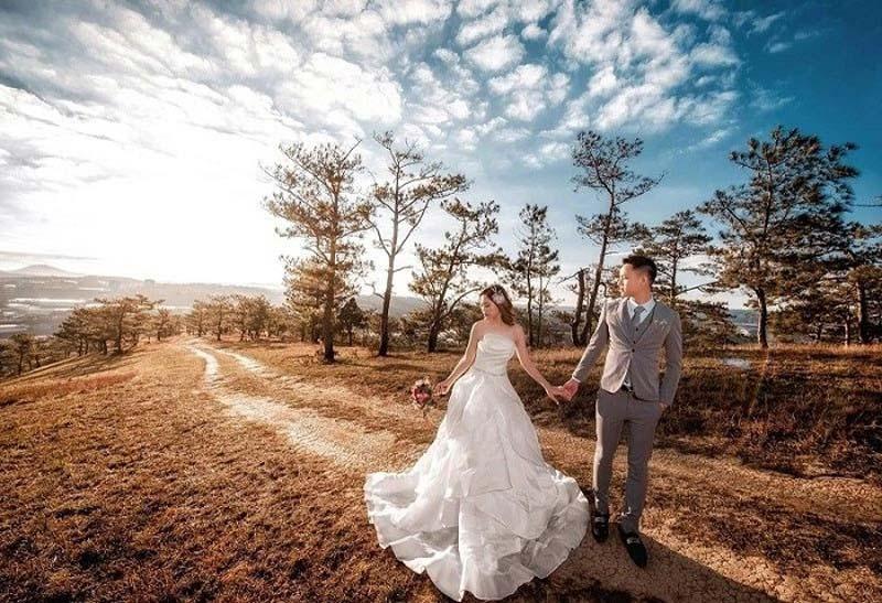 Chụp ảnh cưới ngoại cảnh giá rẻ uy tín chất lượng